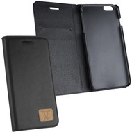 Fontastic OZBO PU Tasche Diary Slim schwarz für Apple iPhone 6/ 6s