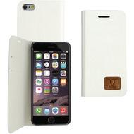 Fontastic OZBO PU Tasche Diary Slim - weiß - für Apple iPhone 6/ 6s