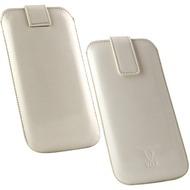 OZBO PU Tasche Pearl 2XL - weiß - 142x72x10mm
