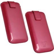 Fontastic OZBO PU Tasche Pearl M - pink - 118x60x11mm