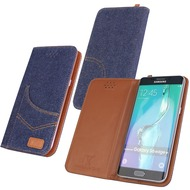 OZBO Tasche Diary Jeans 3XL - blau - 153x78x9mm (5.5 Zoll)