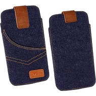 OZBO Tasche Jeans Lift 3XL - blau - 153x78x9mm (5.5 Zoll)