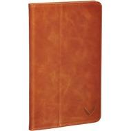 Packenger Luxury Echtleder iPad Mini 4 Klapphülle mit Wake Up Funktion - Cognac