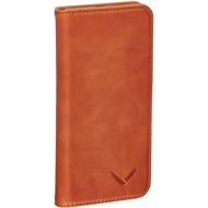Packenger Luxury Echtleder iPhone 5/ 5S/ SE Klapphülle - Cognac