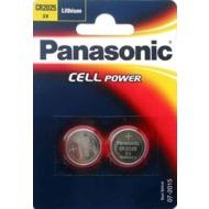 Panasonic CR-2025L/ 2BP 2er Blister, 3v