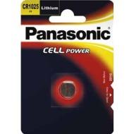 Panasonic CR1025 Lithium, Blister, 3v