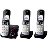 Panasonic KX-TG6823GB Trio, schwarz