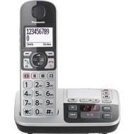 Panasonic KX-TGE520GS, schnurloses Single-DECT Telefon, silber-schwarz