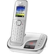 Panasonic KX-TGJ320GW schnurloses Single-DECT Telefon mit AB, weiß
