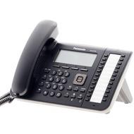 Panasonic KX-UT136NE-B SIP-VoIP Telefon, schwarz