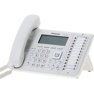 Panasonic KX-UT136NE SIP-VoIP Telefon, weiß