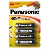Panasonic LR6APB/ 4BP (AA)  Alkaline Power 4er Blister,