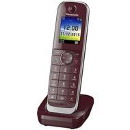 Panasonic Mobilteil KX-TGJ310/ 320/ 322/ 323 inkl. Ladeschale, dunkel-rot