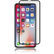 Panzer Panzer Full-Fit 2,5D Silicate Glass Displayschutz, Apple iPhone X, schwarz, 389965