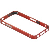 PanzerGlass Aluminium Frame für iPhone 4/ 4S, Dark Red
