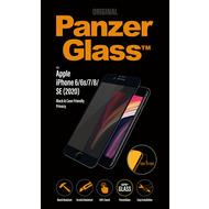 "PanzerGlass Apple iPhone 6/ 7/ 8/ 4.7"" 2020 Case Friendly Privacy, Black"