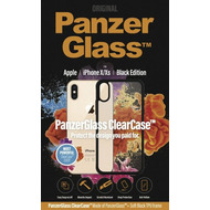 PanzerGlass ClearCase with BlackFrame for Apple iPhone X/ Xs