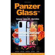 PanzerGlass PanzerGlass ClearCase mit Blackframe für Samsung Galaxy S20