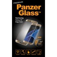 PanzerGlass Displayschutz PREMIUM für Samsung Galaxy S7 Edge Gold