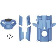 Parrot Rolling Spider - Abdeckungen 5 Stück + Schrauben blau