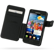 PDair Ledertasche Book f�r Samsung i9100 Galaxy S2
