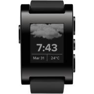 Pebble Classic Smartwatch, jet black