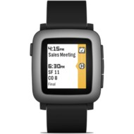 Pebble Time Smart Watch, Black
