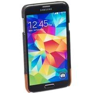 Pedea Backcover Ashford für Samsung Galaxy S5, Stoff,Grau