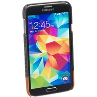 Pedea Backcover Dartford für Samsung Galaxy S5, stoff, Grau