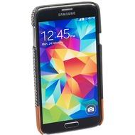 Pedea Backcover Maidstone für Samsung Galaxy S5, Stoff, Grau
