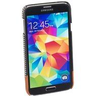 Pedea Backcover Swale für Samsung Galaxy S5, Stoff, Grau
