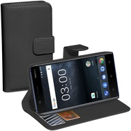 Pedea Book Classic für Nokia 3, schwarz