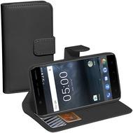 Pedea Book Classic für Nokia 5, schwarz