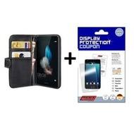 """Pedea Book Cover Huawei P8 Lite, Schwarz+ Displex Gutschein 5"""""""