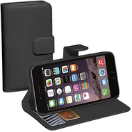 Pedea BookCover Classic für Apple iPhone 6S Plus, schwarz