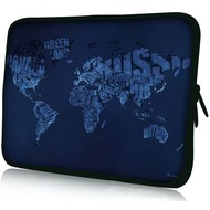 Pedea Design Tablet-Tasche 10,1 Zoll blue world