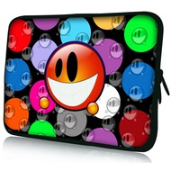 Pedea Design Tablet-Tasche 10,1 Zoll, orange smiley