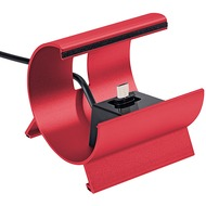 Pedea Dockingstation L micro-USB, rot