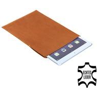 Pedea Echtledertasche Tennessee für Apple iPad Air, Cognac