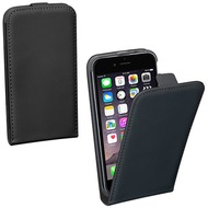 Pedea Flip Classic + Glasschutzfolie f. iPhone 7 Plus /  iPhone 8 Plus Schwarz