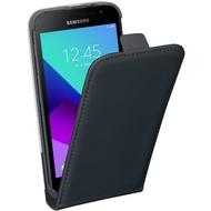 Pedea Flip Cover für Samsung Galaxy Xcover 4, Schwarz