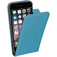 Pedea Flipcase Classic für Apple iPhone 6/ 6S, cyan