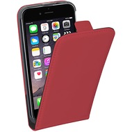 Pedea Flipcase Classic für Apple iPhone 6/ 6S, rot