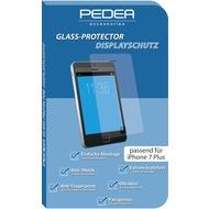 Pedea Glasschutzfolie für Apple iPhone 7 Plus