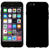 Pedea Soft TPU Case für Apple iPhone 5/ 5S/ SE, glatt, schwarz