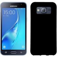 Pedea Soft TPU Case (glatt) für Galaxy J1 2016, transparent