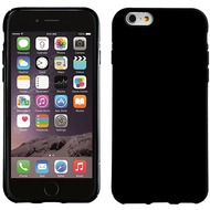 Pedea TPU BackCover glatt für Apple iPhone 6/ 6S, schwarz