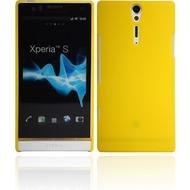Twins Shield Matte für Sony Xperia S, gelb