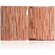 Twins Shield Wood für iPad 3, rotbraun