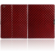 Twins Diamond Folio für iPad 2/ 3, rot